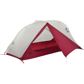 MSR FreeLite 1 Gray Tent V2 - Tente - gris/rouge